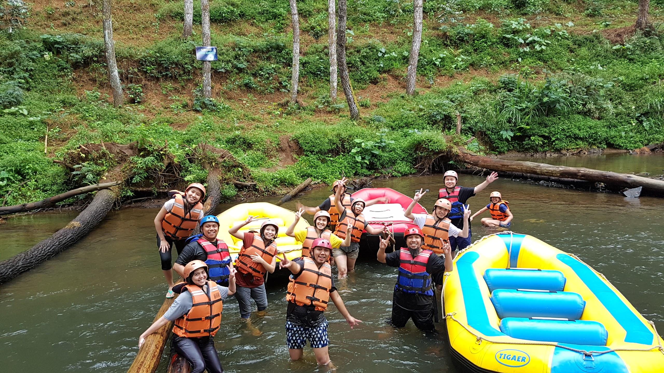 spot rafting bandung
