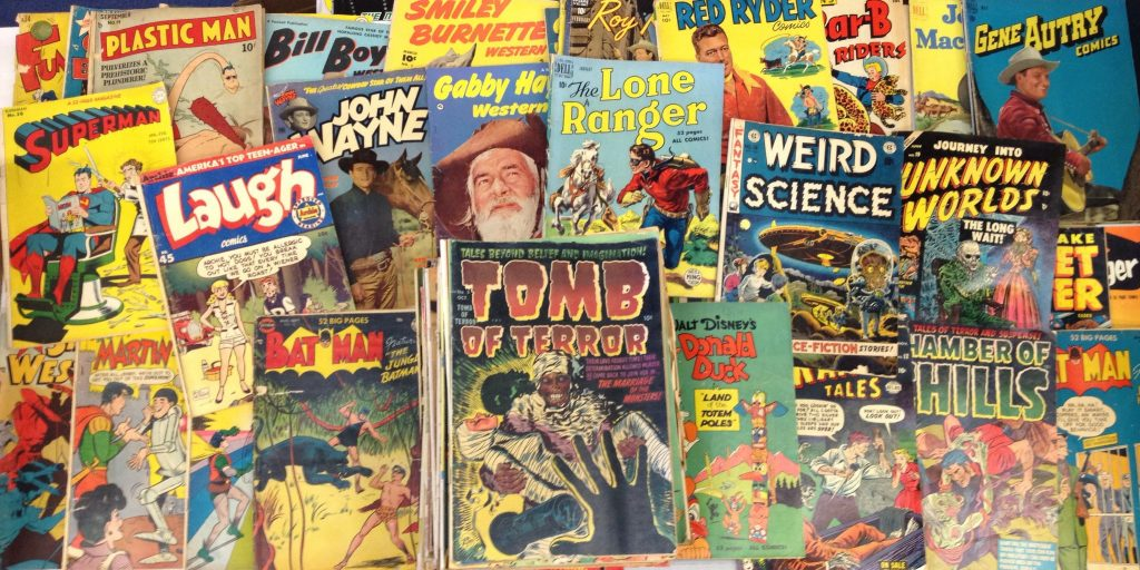 koleksi buku komik