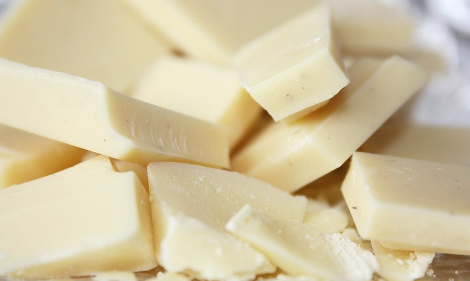 cokelat putih batangan
