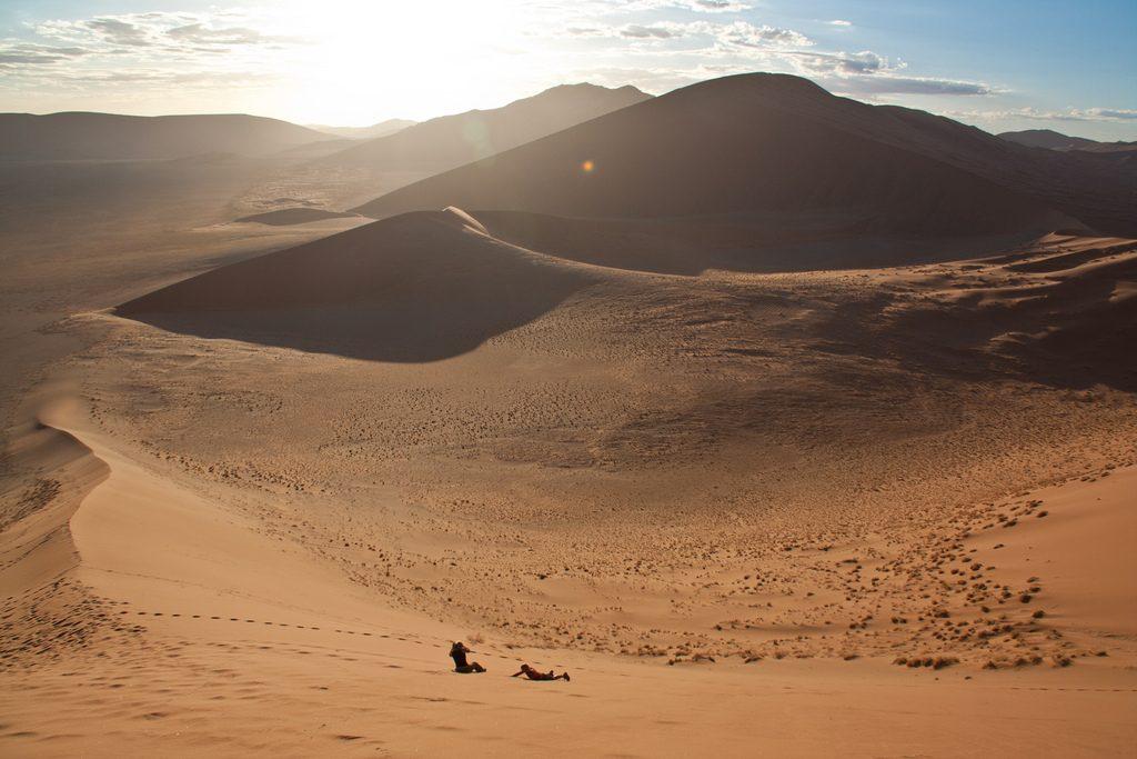 gurun namib spot skydiving
