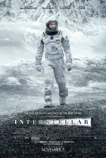 pemain film interstellar