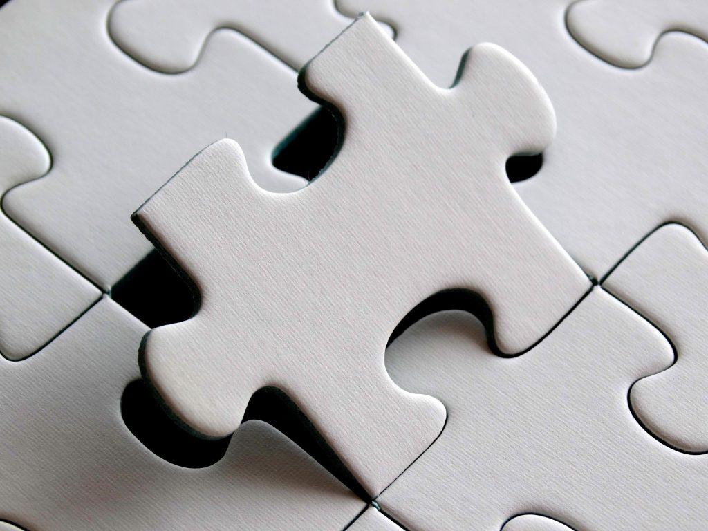 potongan puzzle anak